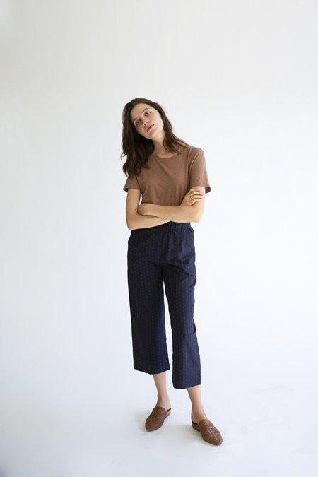It Is Well L.A. Slash Pocket Crop Pant - Pinstripe