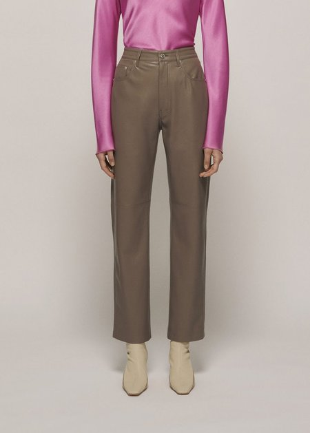 Nanushka Vinni Pants - Clay