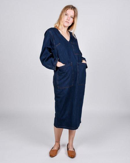 L.F.Markey Merlon Dress - Raw Denim