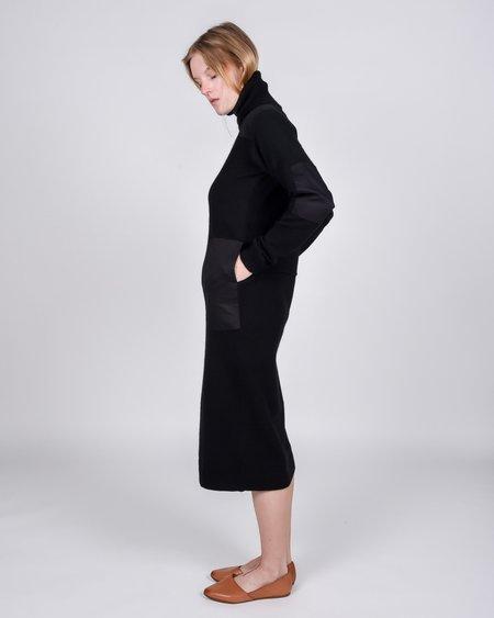 L.F.Markey Theodore Knit Dress - Black