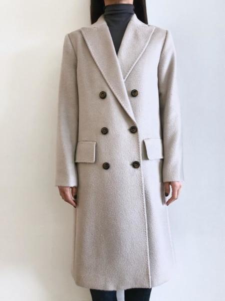 Latierra Alpaca Milan Double Breasted Coat
