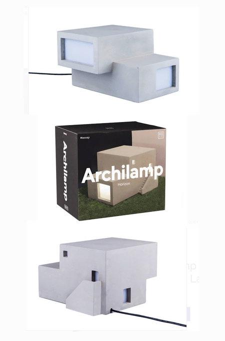 doiy Archilamp Horizon Concrete LED Lamp