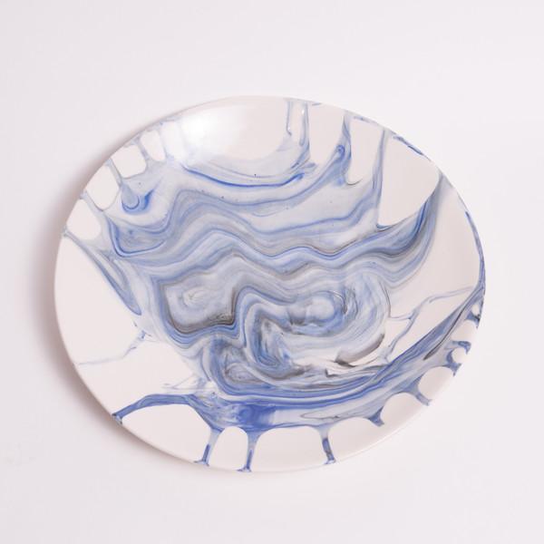 Sarah Cihat Marble Dinner Plate