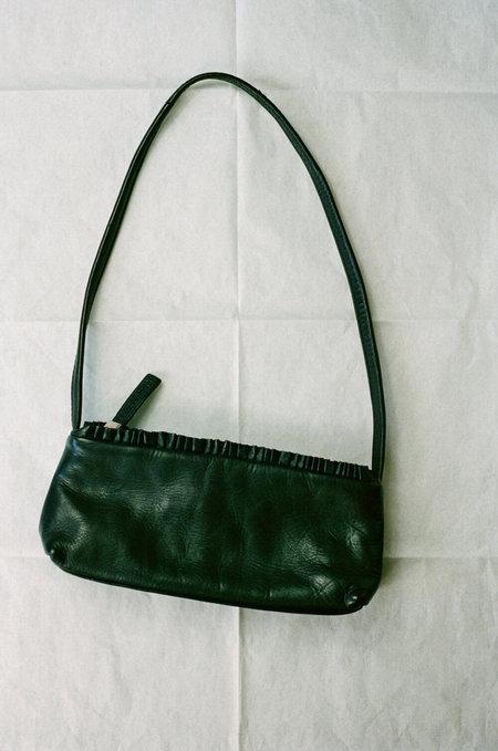 Vintage HUMAN SEA VINTAGE X JOAN Leather Micro Shoulder Bag - black