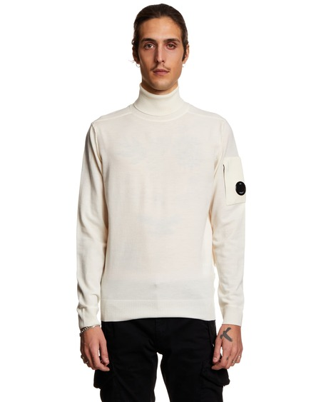 C.P. Compan Turtleneck Sweater - White