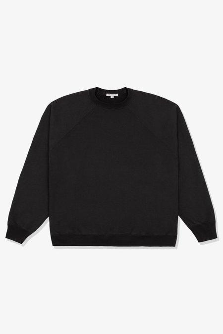 Lady White Co. Heavyweight Raglan Sweatshirt - Tire Black