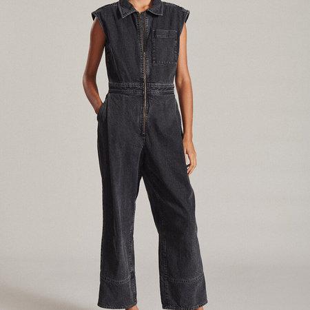 Rachel Comey Annin Jumpsuit - Washed Black Denim