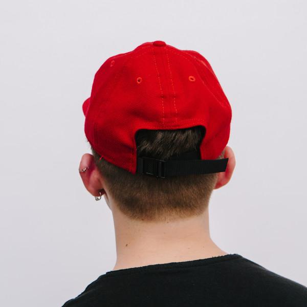 Fair Ends Red Flannel Ball Cap