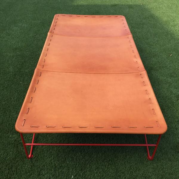 GARZA MARFA Saddle Leather Cot