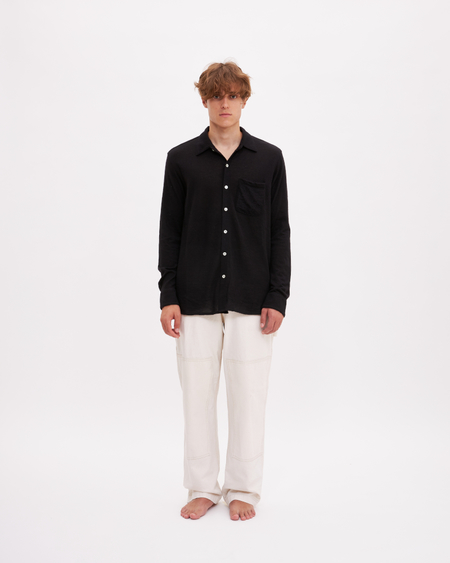 Bellariva Cashmere Shirt - Black