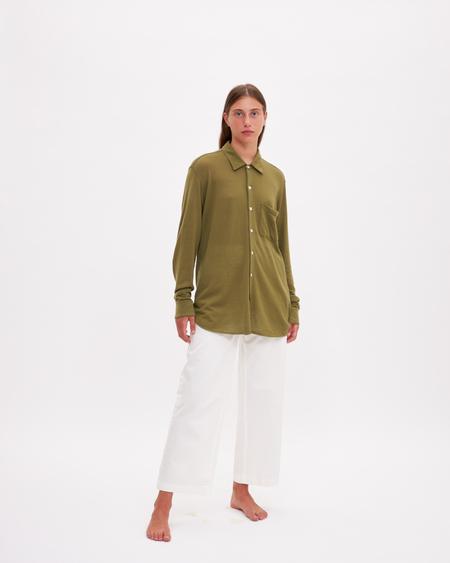 Bellariva Cashmere Shirt - Olive