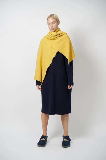 Oyuna OUTLET Geriel Wool and Cashmere Shawl - Sun