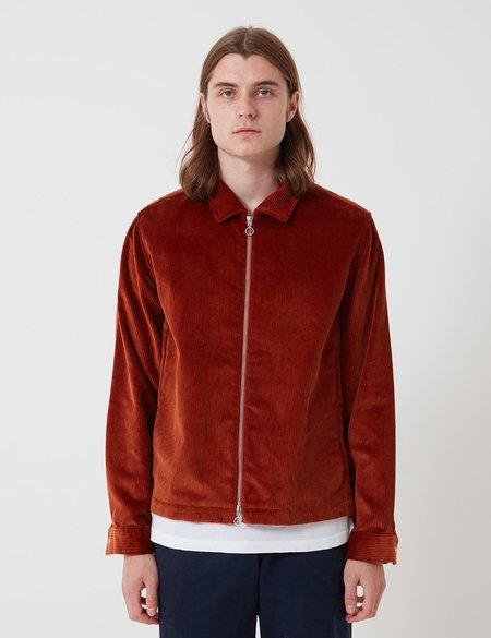 Bhode x Brisbane Moss Cord Zip Jacket - Cinnamon