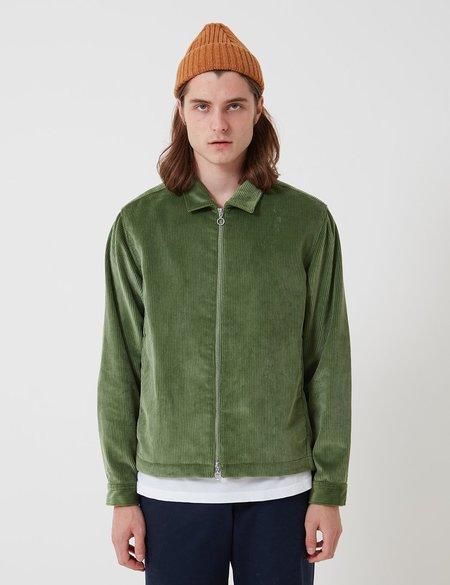 Bhode x Brisbane Moss Cord Zip Jacket - Sage Green