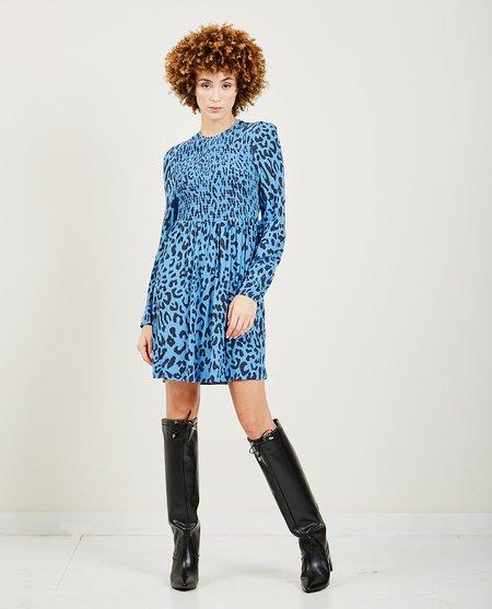 Baum und Pferdgarten Avaleigh Dress - Blue Leopar