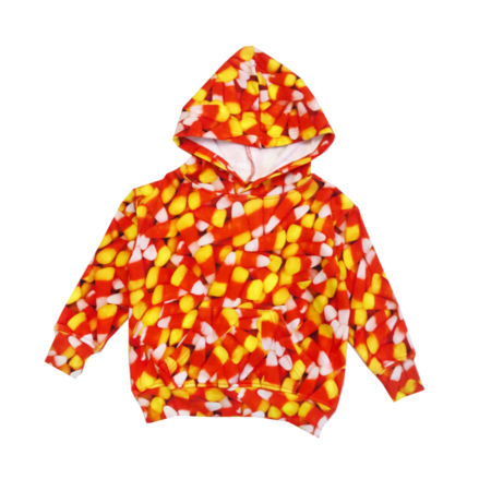 Kids Romey Loves Lulu Candy Corn Hoodie