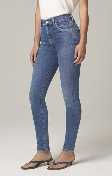 CITIZENS OF HUMANITY CHRISSY HIGH RISE SKINNY FIT - story