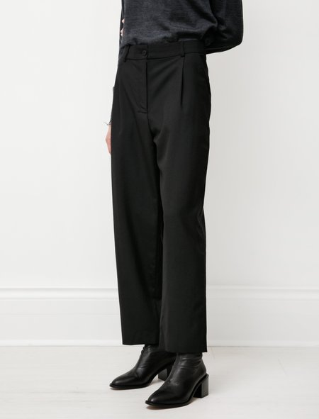 Norse Projects Nina Wool Trousers - Black