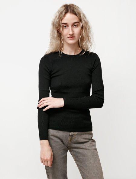 Norse Projects Siri Merino Sweater - Black