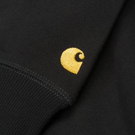 Carhartt Wip Chase Crewneck Sweatshirt - Black