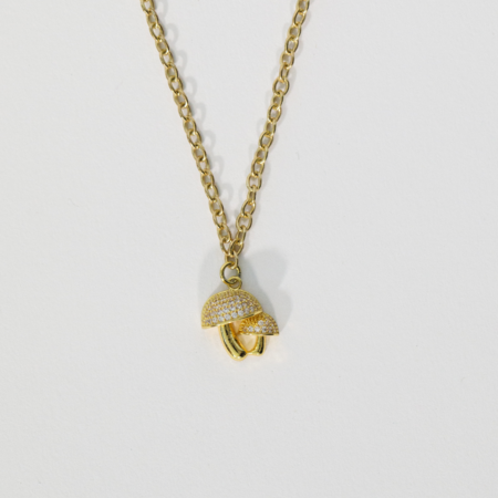 Montserrat New York The Seta Mushroom Necklace