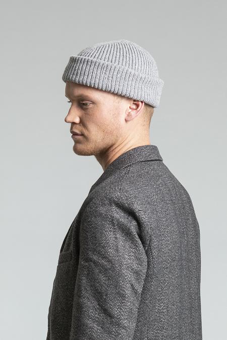 Unisex Dinadi Merino Rib Hat - Flint Grey