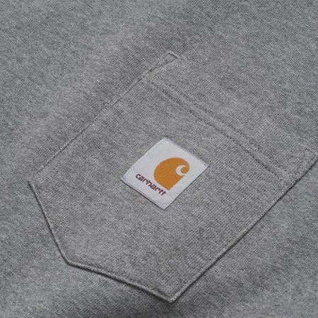 Carhartt Wip Pocket Sweat - Dark Grey Heather