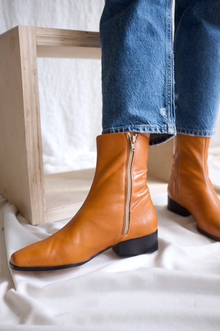 Paloma Wool Edna Leather Boot - Natural