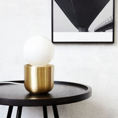 House Doctor Gleam Table Lamp - Brass