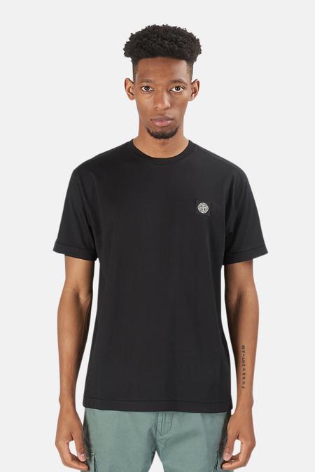 Stone Island Chest Logo T-Shirt - Black
