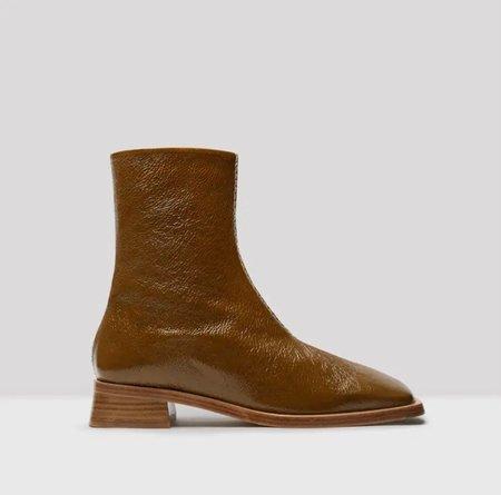 Miista Aroha Ankle Boot - Cognac Patent Leather