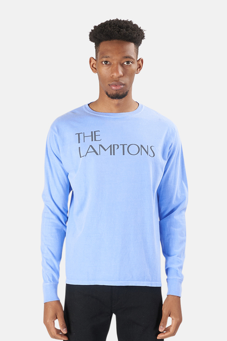 Blue&Cream Lamptons LS Top - washed Purple