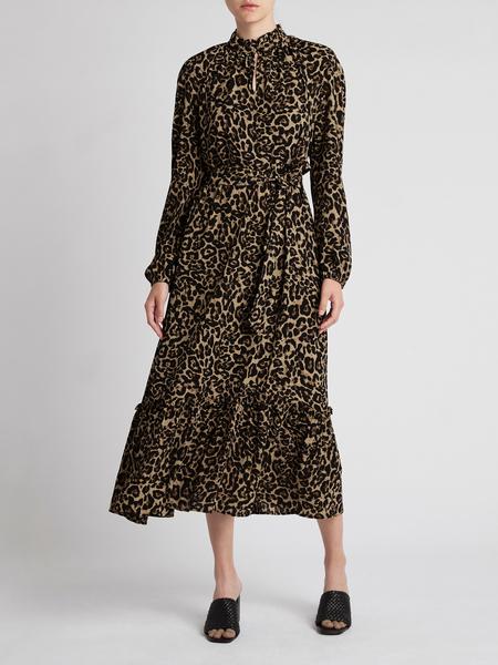 Baum und Pferdgarten Antoinette Dress - Natual Leopard