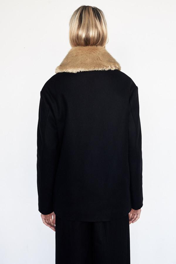 D.EFECT Faux Fur Edna Coat