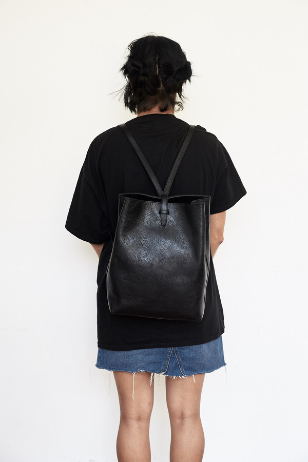 Lotuff Leather Sling Backpack