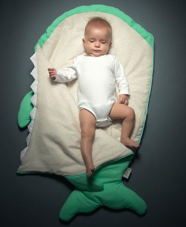 Baby Bites Mint Sleep & Stroller Sacks, Winter - Coucou Boston