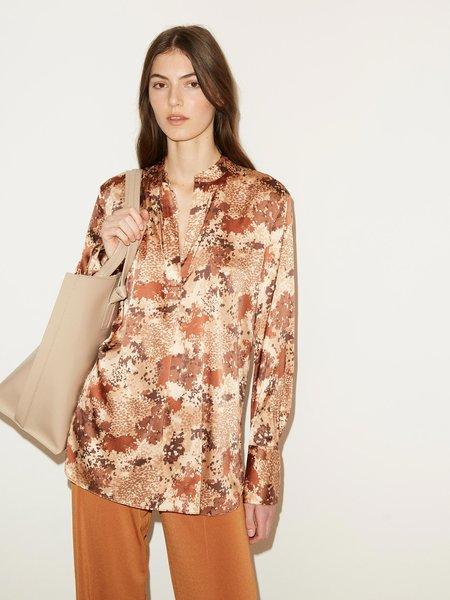 By Malene Birger Mabillon Flat Collar Shirt - Brick