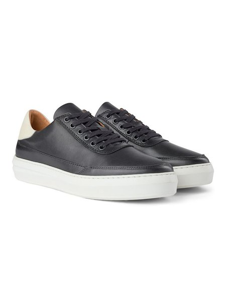 Shoe the Bear Aren Leather Sneakers - Black