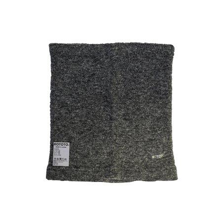 RoToTo MOF Neck Warmer scarf - Gray