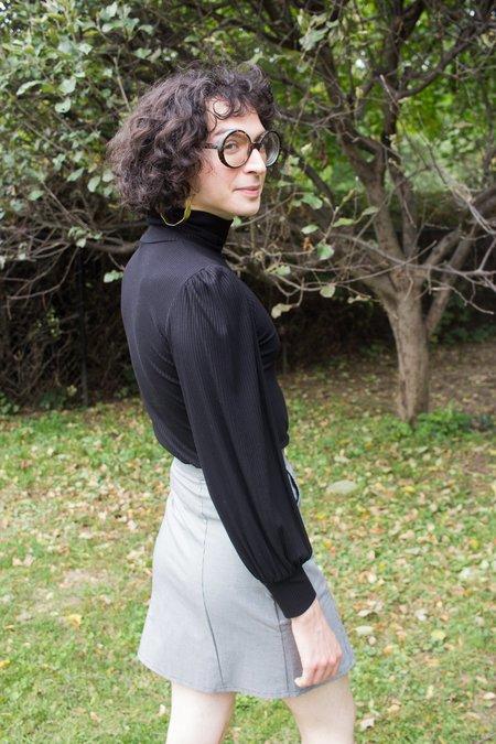 Meemoza Louise Skirt in Mini Houndstooth