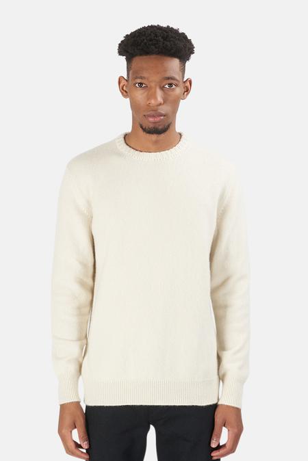 Harden Leaf Crewneck Sweater - Cream