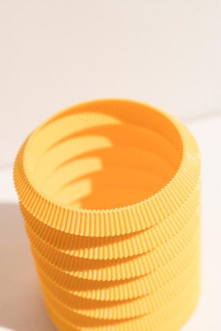 UAU Project S Vase - yellow