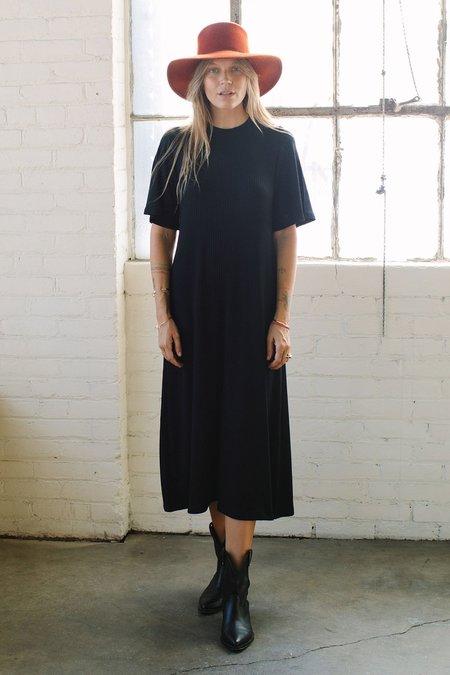 Rachel Pally Rib Oona Dress - Black