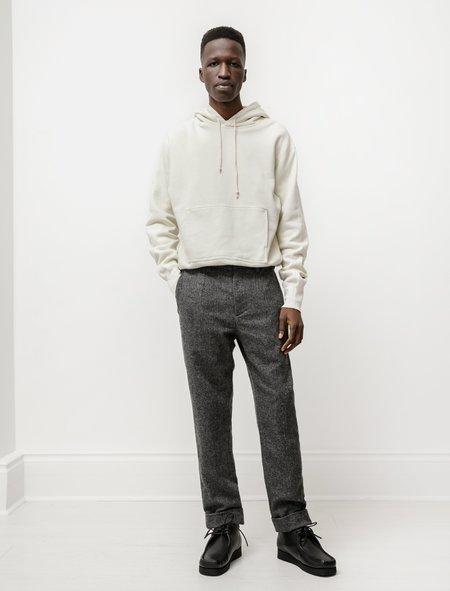 Engineered Garments Andover Pant in Poly Wool Herringbone - Grey