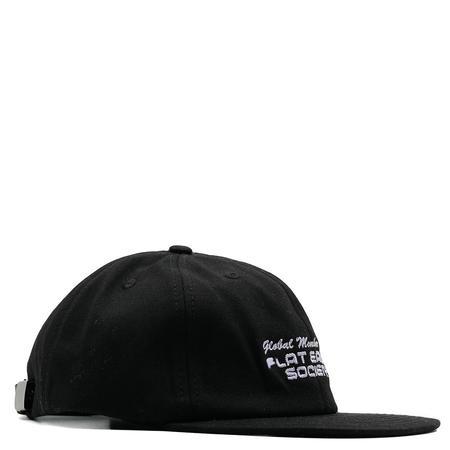 Cold World Frozen Goods Flat Earth Hat - Black