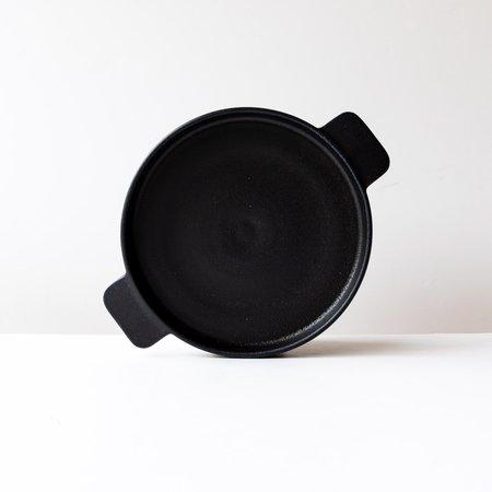 A + J Métissage Round Ceramic Gratin Plate