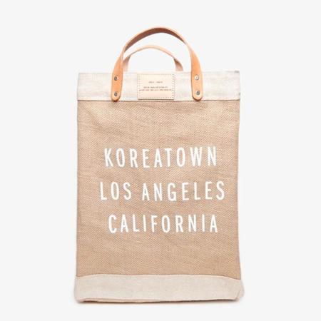 Poketo Koreatown Apolis Market Bag