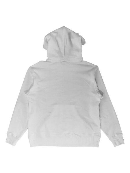 Velva Sheen Loopwheeler Pullover Hoodie - White