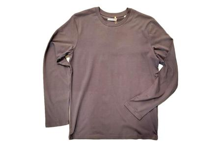 Milworks Organic Long Sleeve T-Shirt - Anthracite