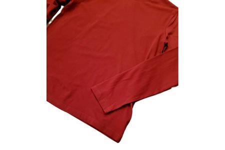 Milworks Organic Long Sleeve T-Shirt - Burgundy